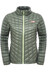 The North Face W's Thermoball Full Zip Jacket Laurel Wreath Green